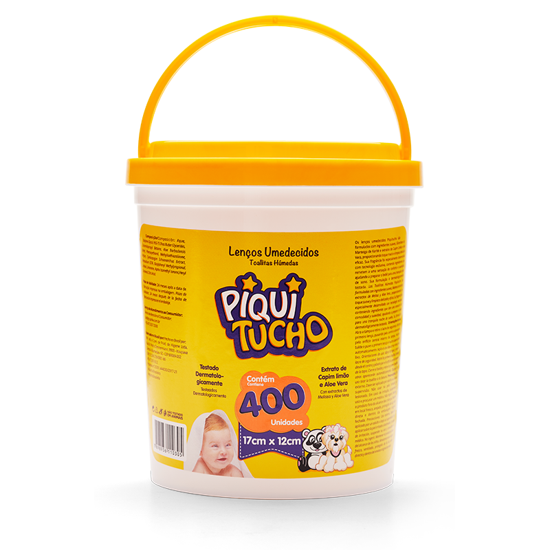 Toallas Húmedas (400 unidades) Piquitucho