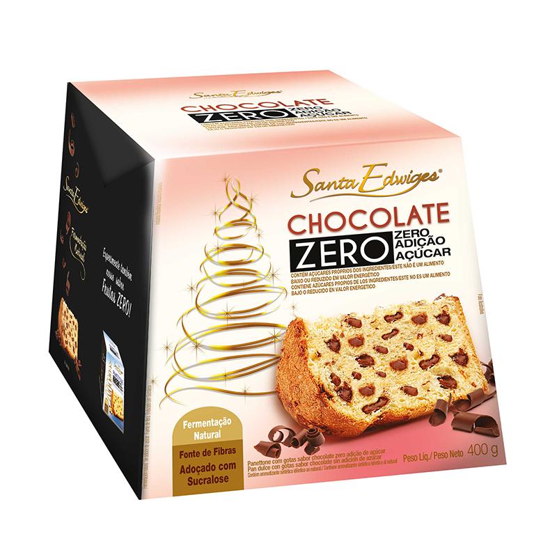 Pan Dulce de Chocolate Zero Santa Edwiges 400 gr