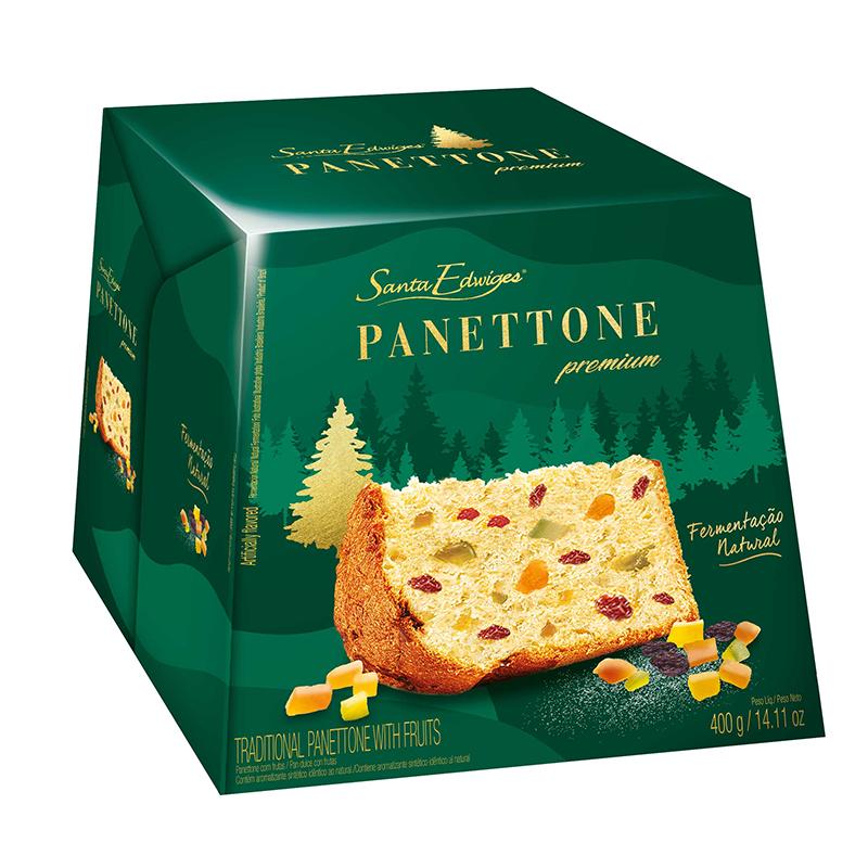 Panettone Premium Frutas Santa Edwiges 400g
