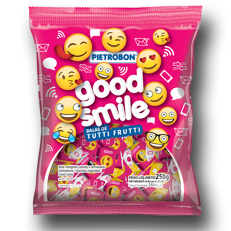 Chupetines Good smile de tutti frutti