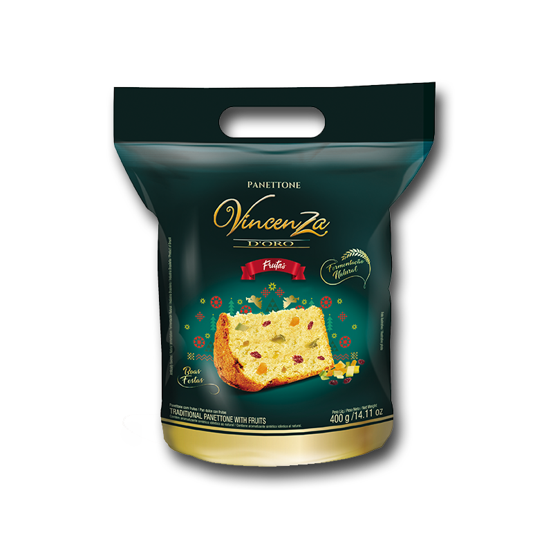 Panettone Frutas Vicenza D'oro 400 gr