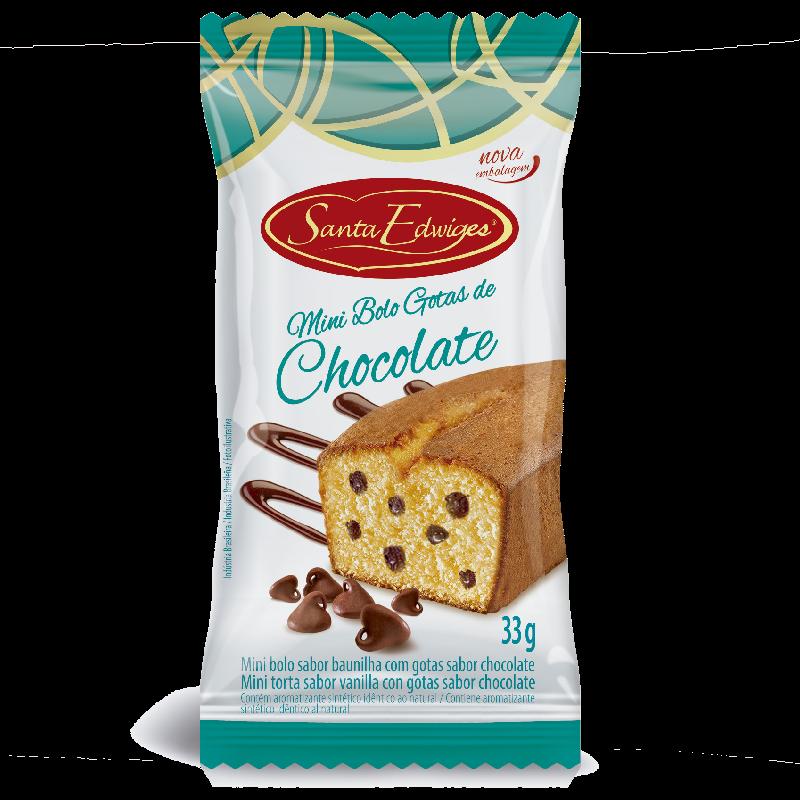 Mini Budín de gotas de Chocolate 33 gr