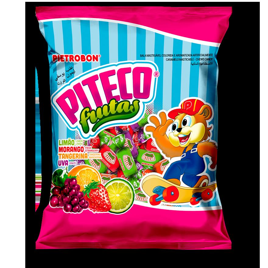 Caramelos masticables de frutas Piteco