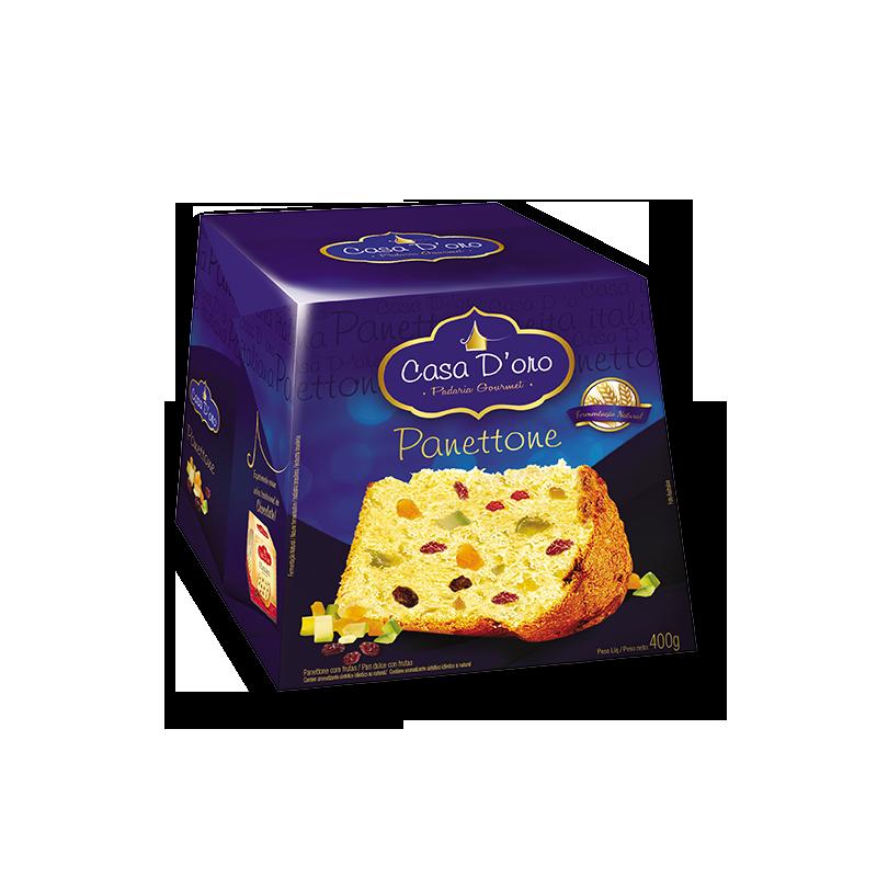 Pan dulce frutas Casa d'Oro 400 gr