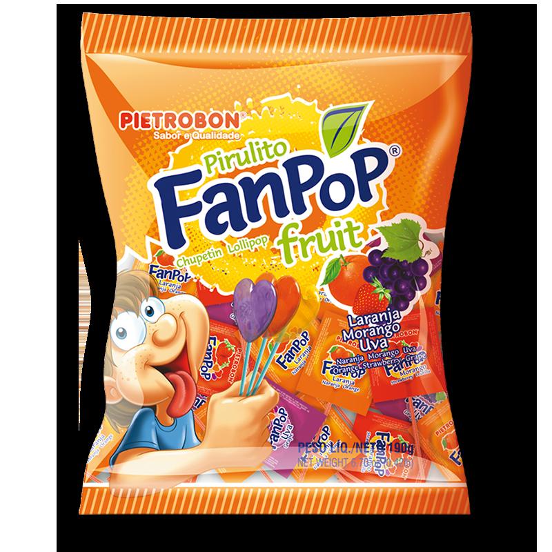 Chupetines Fanpop frutales