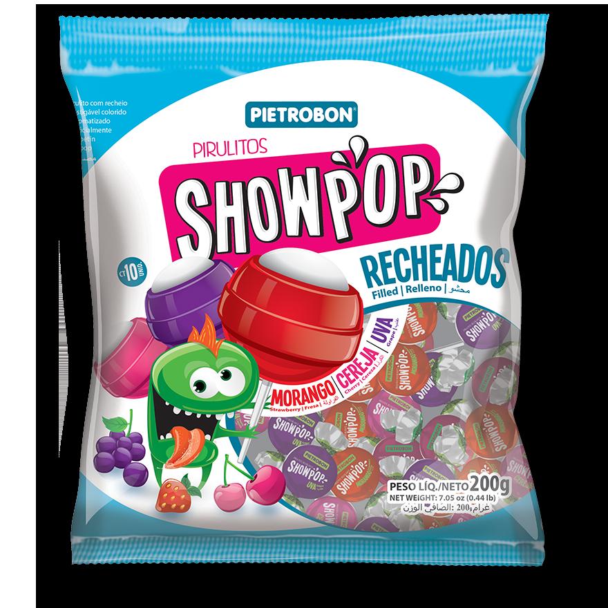 Chupetines Showpop sabores surtidos