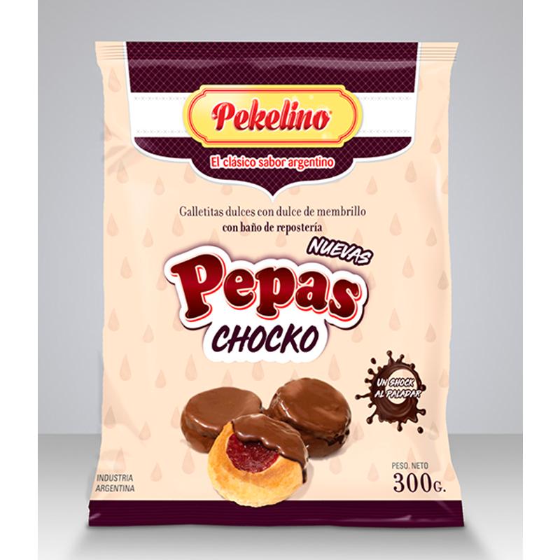 Galletas Pepas con Chocko 300g