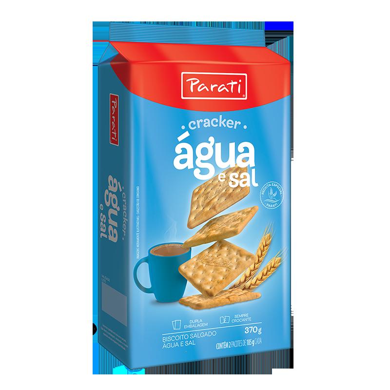 Galletas Cracker Agua y Sal 370g