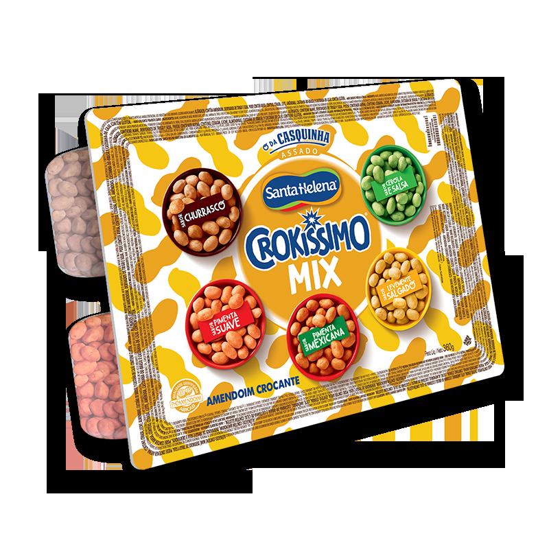 Crokissimo Amendoim mix 360g