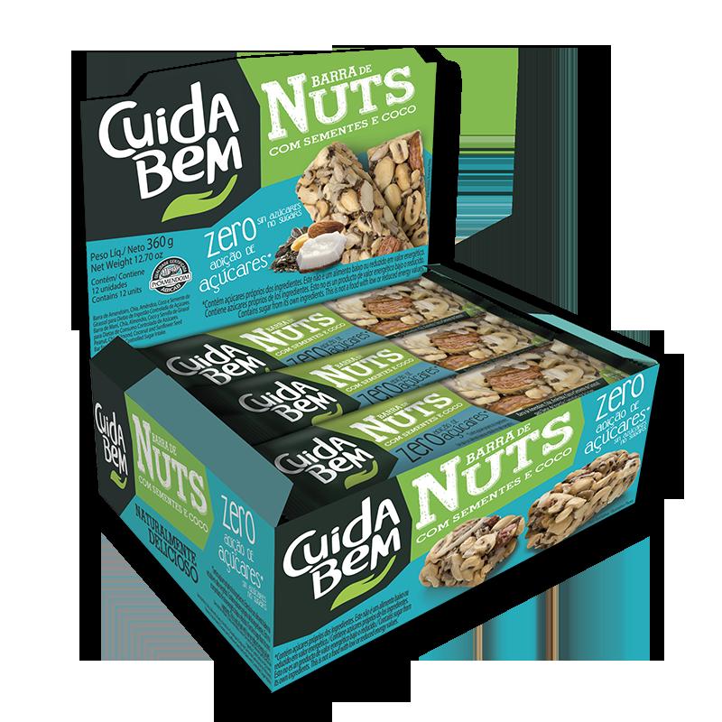 Barra de Nuts de Coco Display