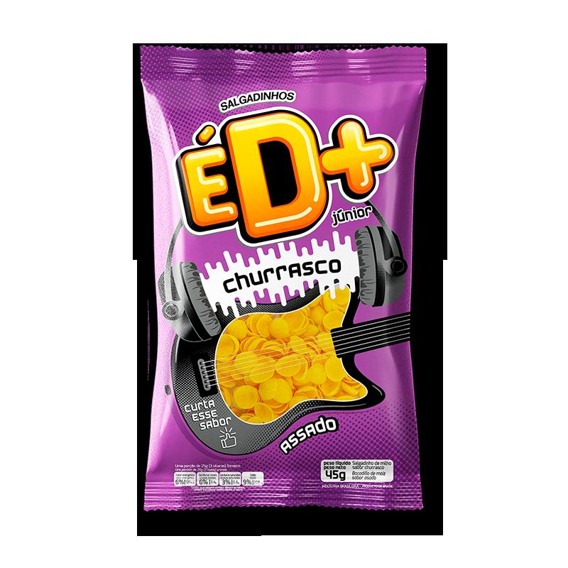 Chips de milho sabor churrasco 35g