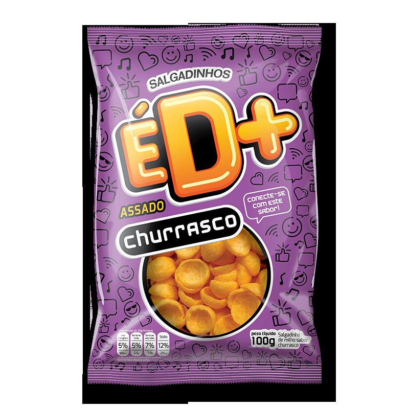 Chips de milho sabor churrasco 100g