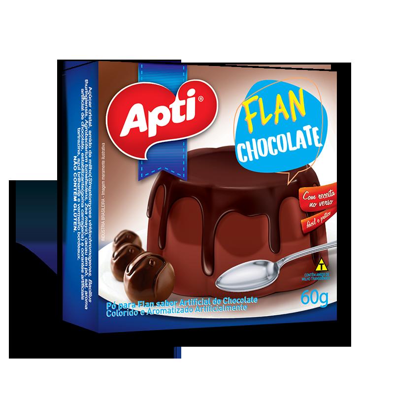 Flan de Chocolate 60 gr