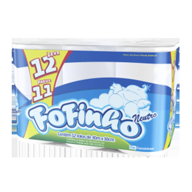 Papel Higiénico Fofinho 13x30 mts