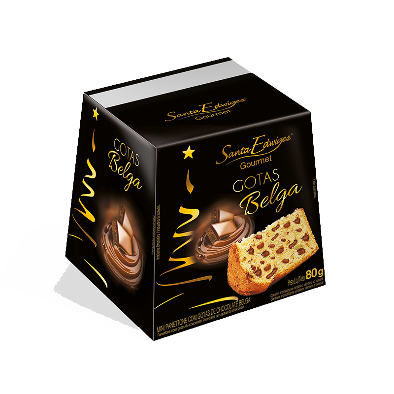 Pan Dulce Gourmet de chocolate Santa Edwiges 80g