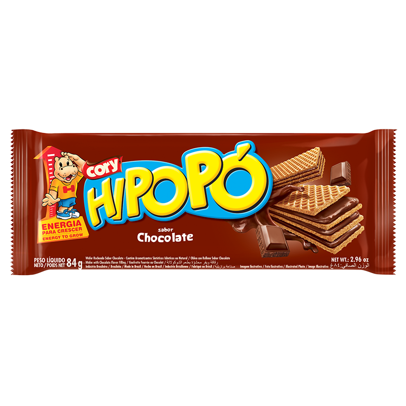 Oblea Hipopó Chocolate 84g