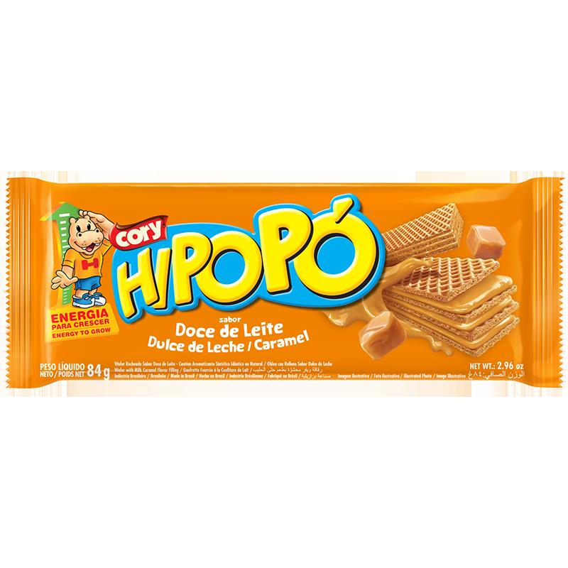 Oblea Hipopó Dulce de Leche 84g