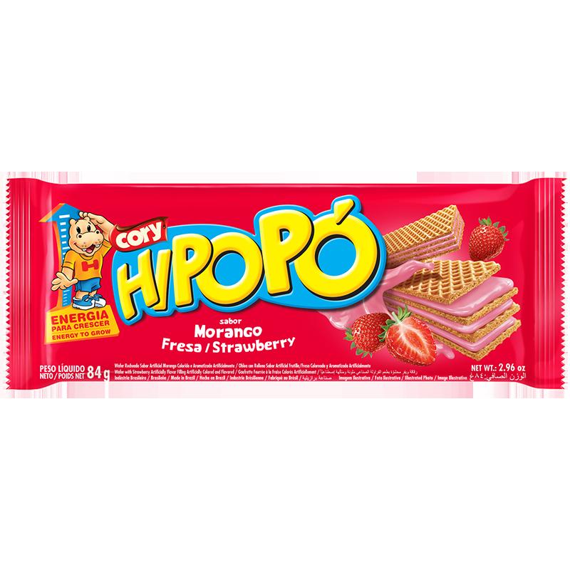 Oblea Hipopó Frutilla 84g