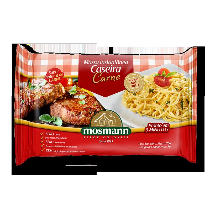 Pasta Instantánea Carne 77gr