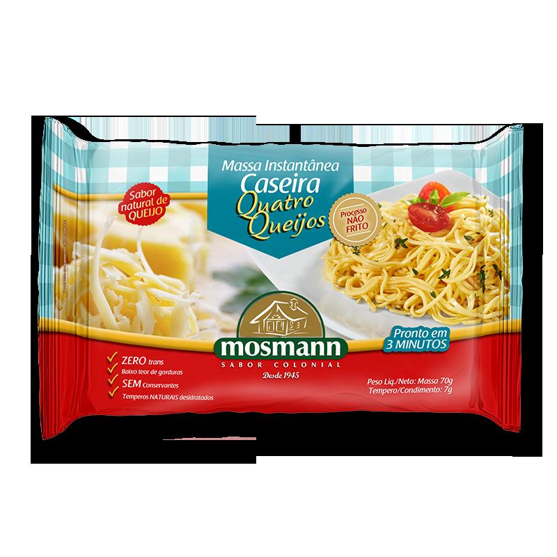 Pasta instantánea Cuatro quesos 77gr
