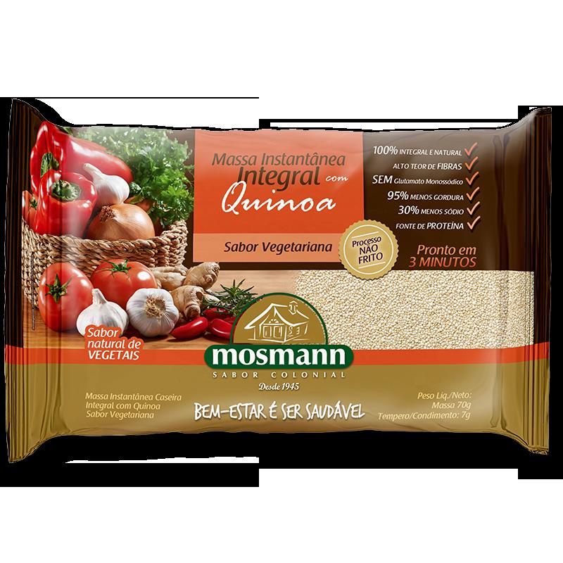Pasta instantánea Integral Vegetariana de Quinoa 77gr