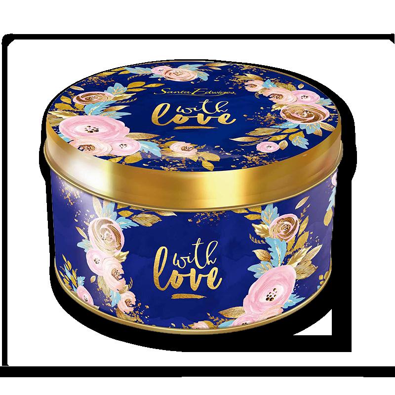 Galleta de manteca lata 300 g - With Love
