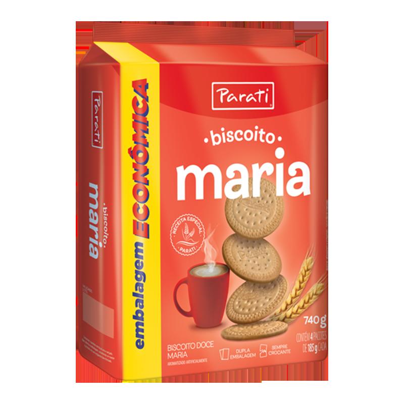 Galletas Paratí Maria Economico 740g