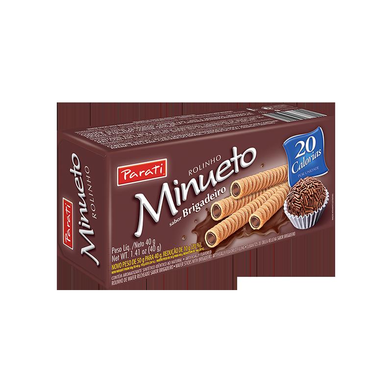Barquillo Brigadeiro Minueto 40gr