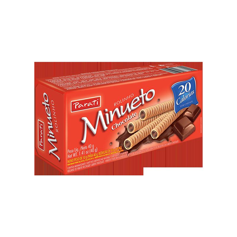 Barquillo de Chocolate Minueto 40gr