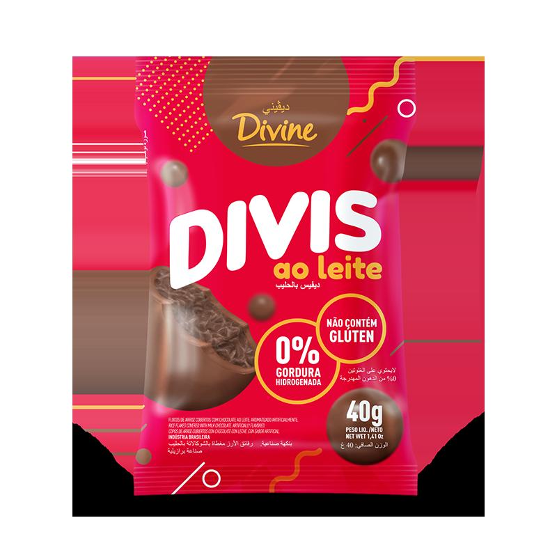 Divis con leche (40g)