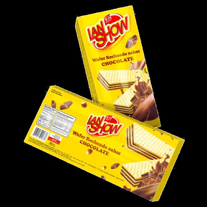 OBLEA LANSHOW CHOCOLATE 80GRS