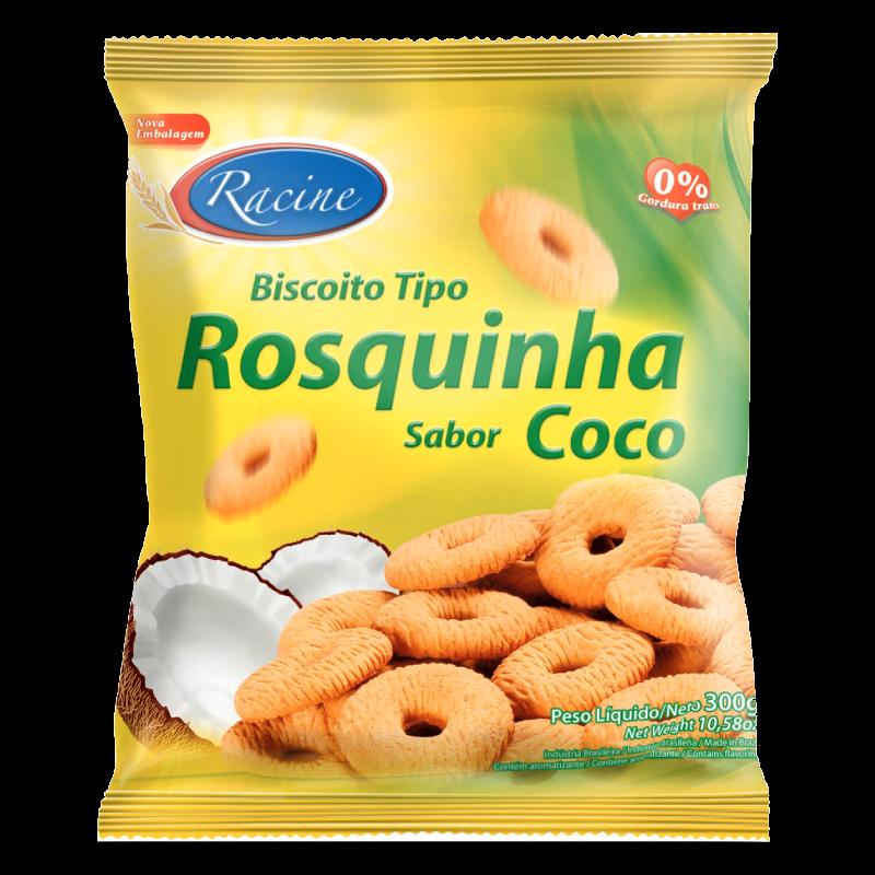 ROSQUINHA RACINE COCO 300GRS