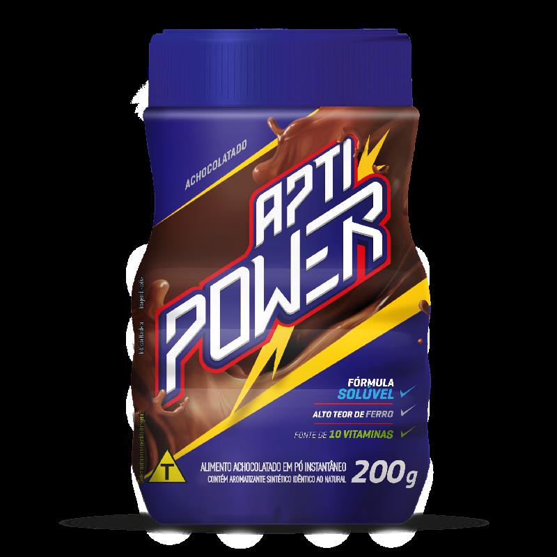 Achocolatada Instantánea Power APTI 200grs