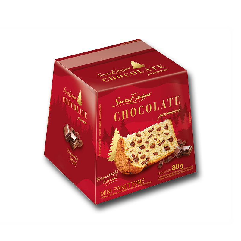 Pan Dulce de Chocolate Santa Edwiges 80g