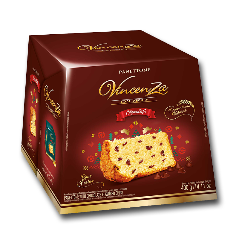 Pan Dulce de chocolate Vicenza d'oro 400 gr