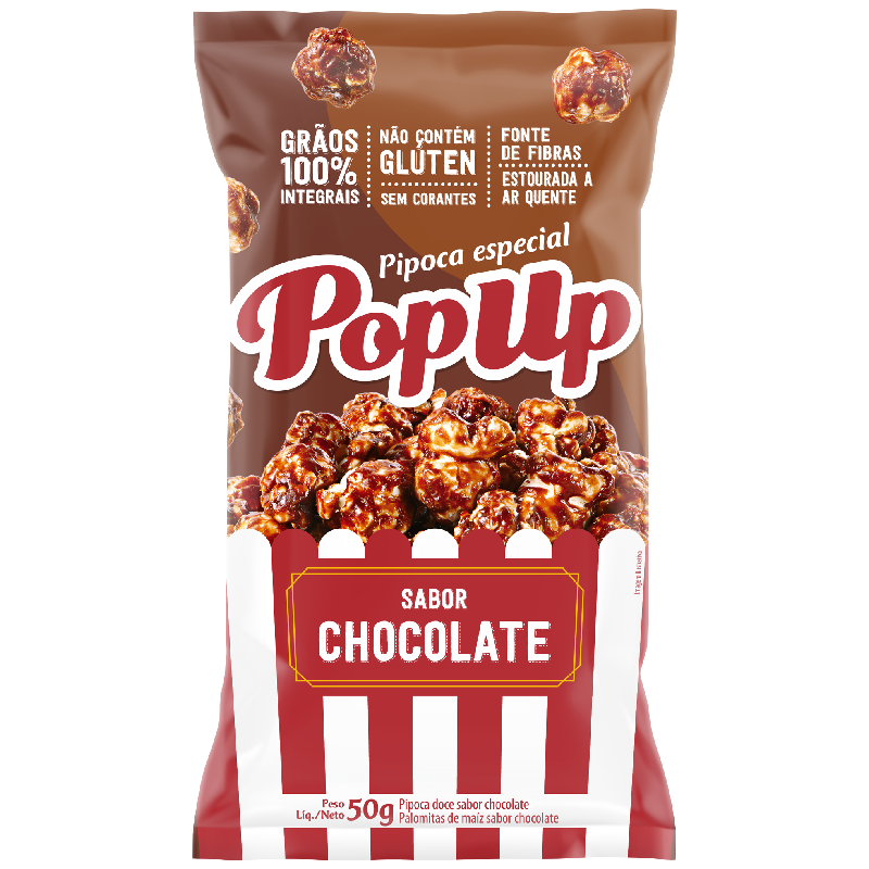 Pop Up Sabor Chocolate 50g