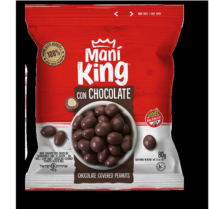 Maní con chocolate (80g)