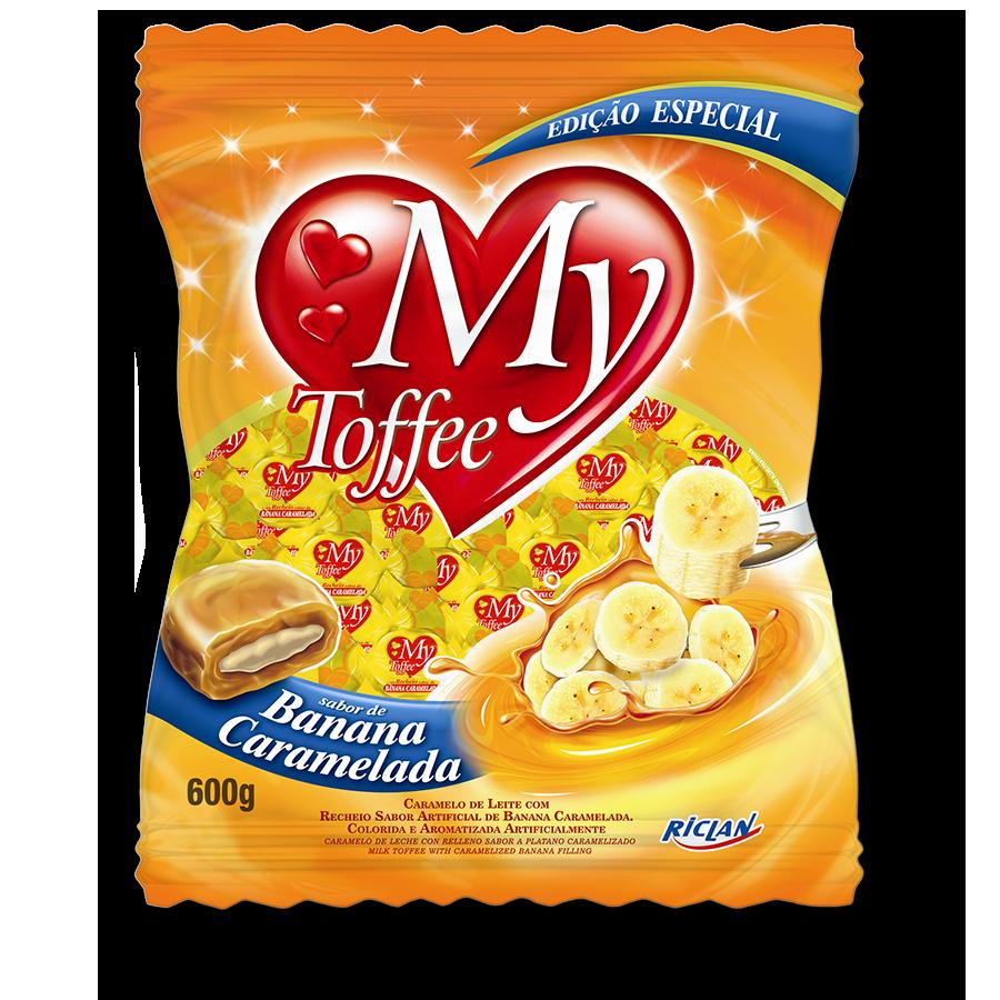 Caramelos masticables My Toffee de banana (600g)