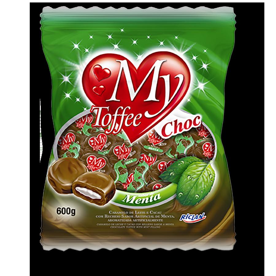 Caramelos masticables My Toffee de chocolate y menta (600g)