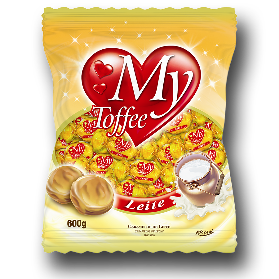 Caramelos masticables My Toffee sabor leche (600g)