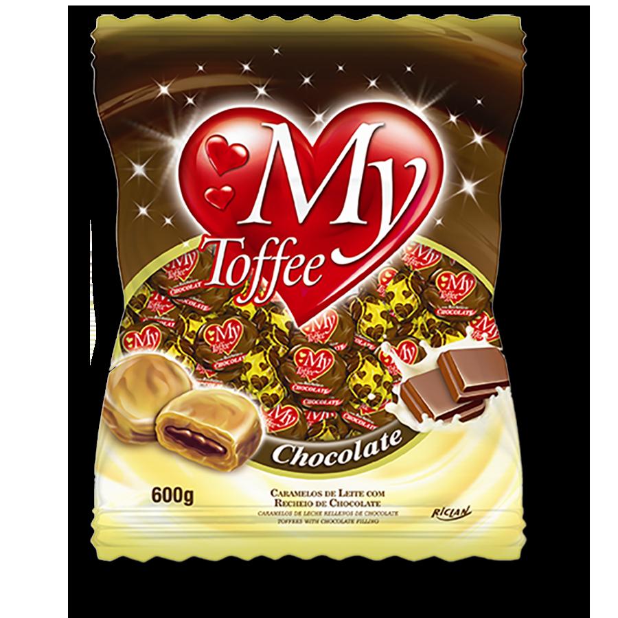 Caramelos masticables My Toffee de Chocolate (600g)