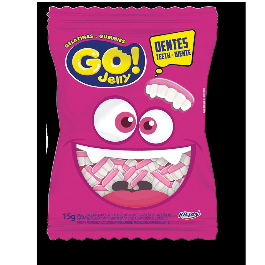 Gomitas Go! - Dientes (15g)