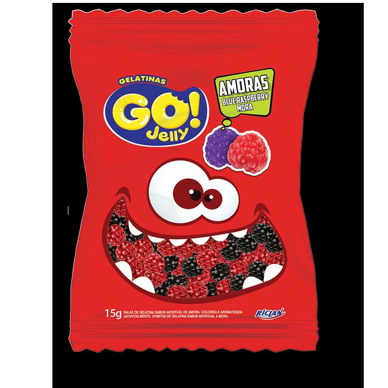 Gomitas Go! - Moras (15g)