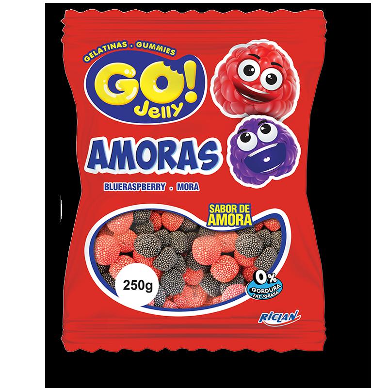 Gomitas Go! - Moras (250g)