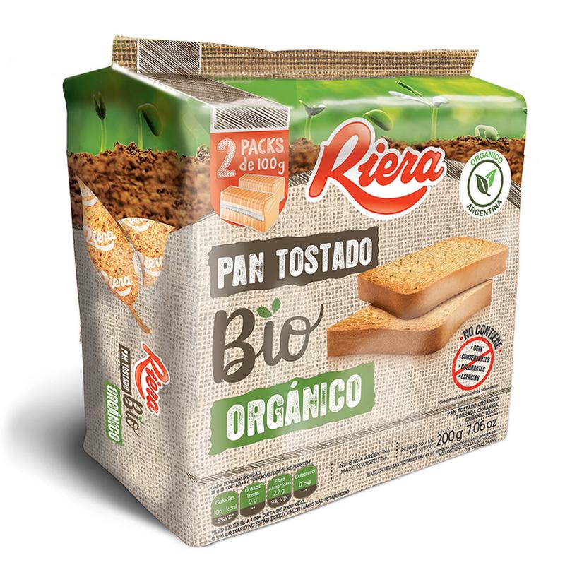 Tostada Riera Bio Organico