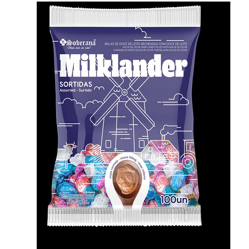 Caramelos Milklander de dulce de leche