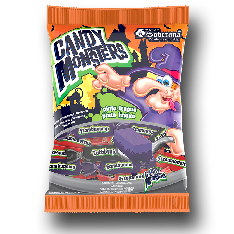 Caramelos Candy Monsters pintalenguas