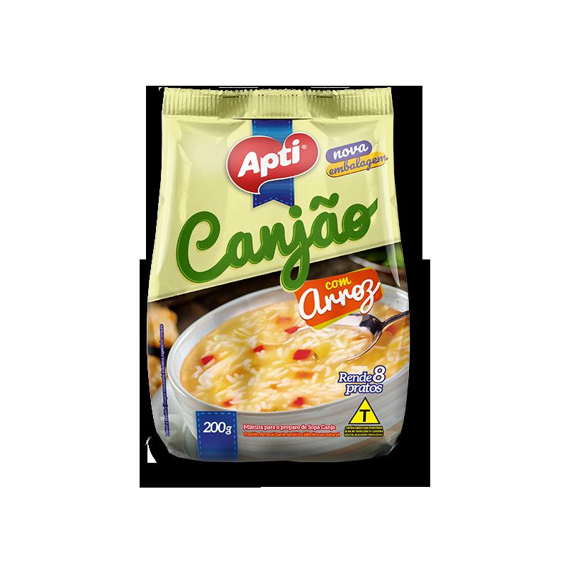 Sopa Canjao con Arroz