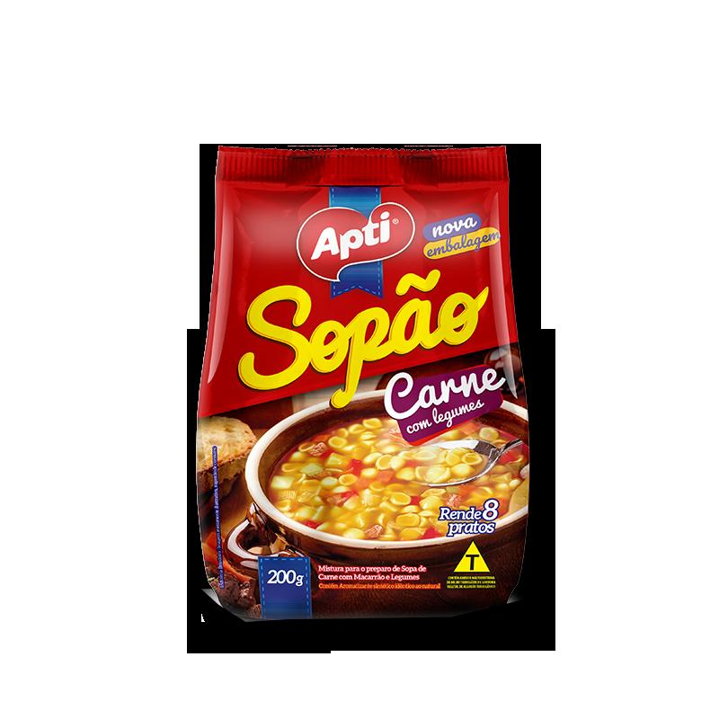 Sopa de Carne legumbres