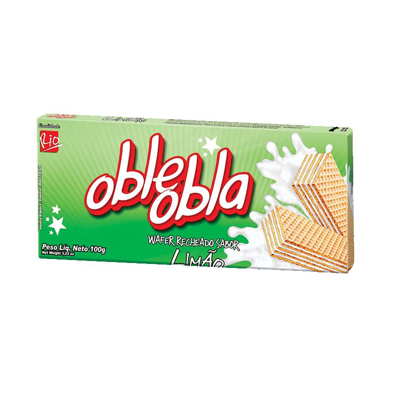 Waffle Oble Obla Limón 100g